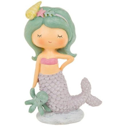 Magical Mermaid in Lilac